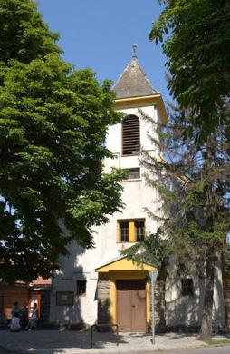 a templom eredeti  homlokzata